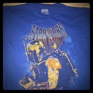 Star Wars Boba Fett T-Shirt size Large Mandalorian